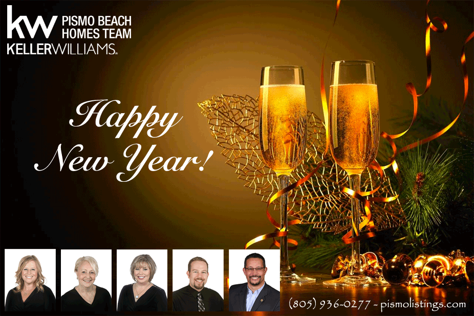 Happy New Year from the Pismo Beach Homes Team